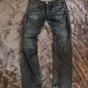 AG Matchbox Slim Straight Jeans 31